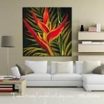 Bức tranh canvas hoa nghệ thuật hà nội