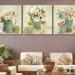 In tranh canvas treo phòng khách Cầu Giấy Hà nội
