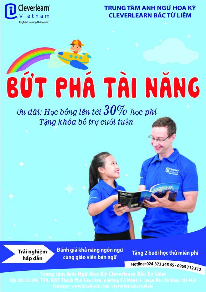 Tờ rơi Cleverlearn Vietnam