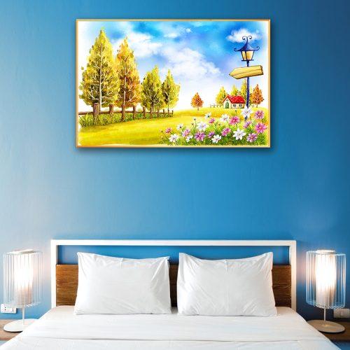 tranh canvas phong canh